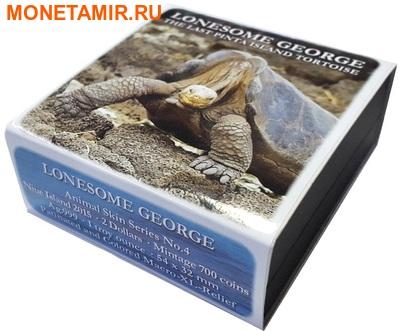 Ниуэ 2 доллара 2015 Черепаха Одинокий Джорж (Niue 2$ 2015 Turtle Lonesome George).Арт.000764151960/60 (фото, вид 3)