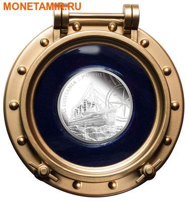 Ниуэ 2 доллара 2015.Корабль Лузитания (RMS Lusitania).Арт.60 (фото, вид 3)