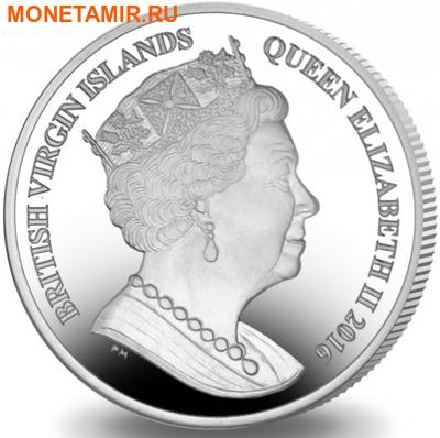 Британские Виргинские Острова 1 доллар 2016.Гольф – Олимпийские Игры в Бразилии.Арт.60 (фото, вид 1)