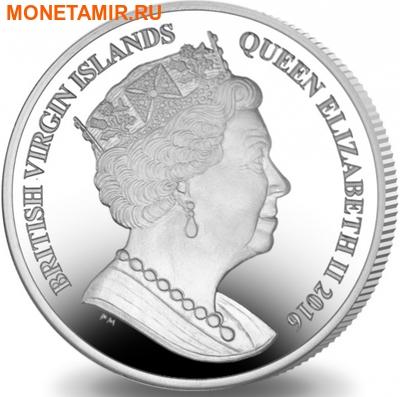 Британские Виргинские Острова 1 доллар 2016.Регби – Олимпийские Игры в Бразилии.Арт.60 (фото, вид 1)