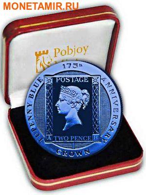 Остров Вознесения 1 крона 2015.Синяя марка – Два пенни (Two Penny Blue).Арт.60 (фото, вид 2)