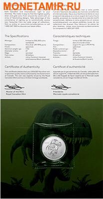 Канада 20 долларов 2016.Динозавр Тираннозавр Рекс (Tyrannosaurus rex)(Блистер).Арт.60 (фото, вид 3)