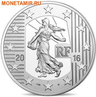 Франция 10 евро 2016 Тестон Франциска I (Монеты на монетах).Арт.60 (фото, вид 1)