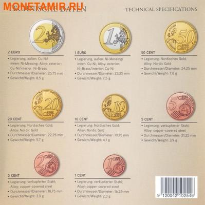 Австрия 3,88 евро 2016.Официальный годовой набор евро.Арт.60 (фото, вид 2)