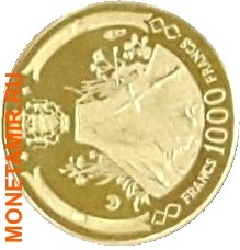Габон 39000 франков 1969.Аполло 11 – Полет на Луну.Космос.(набор 5 монет КМ6-10).Арт.60 (фото, вид 5)