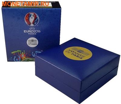 Франция 3х10 евро 2016.Футбол УЕФА ЕВРО 2016 Франция - UEFA Euro 2016 France - Золотой мяч (набор из трех монет).Арт.60 (фото, вид 6)