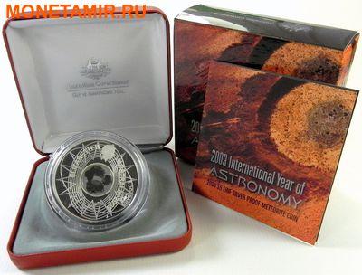 Австралия 5 долларов 2009.Метеорит Кампо-дель-Сьело (Campo del Cielo) – Международный год Астрономии.Арт.001368052244/60 (фото, вид 2)
