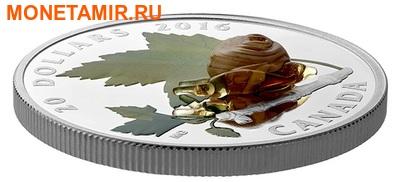 Канада 20 долларов 2016.Улитка – Муранское стекло.Арт.60 (фото, вид 1)