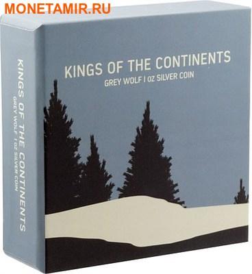 Ниуэ 2 доллара 2016.Серый Волк серия Короли Континентов.Арт.60 (фото, вид 2)