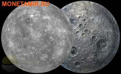 Мали 5000 франков 2016.Метеорит Меркурий NWA 7325/8409 (Mercury-Meteorite NWA 7325/8409).Арт.60 (фото, вид 5)