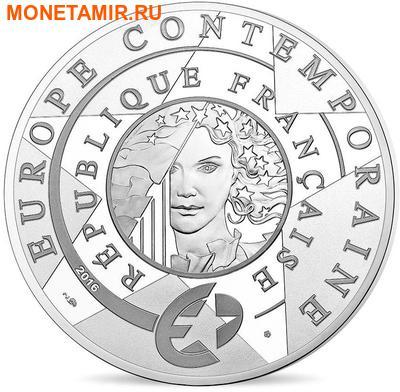 Франция 10 евро 2016.Ив Сен Лоран.Арт.60 (фото, вид 1)