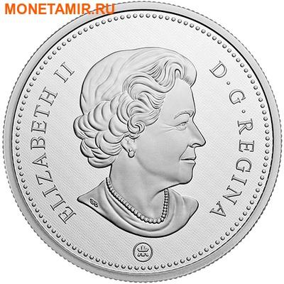 Канада 10 центов 2016.Шхуна Блюноуз серия Большие монеты.Арт.60 (фото, вид 1)