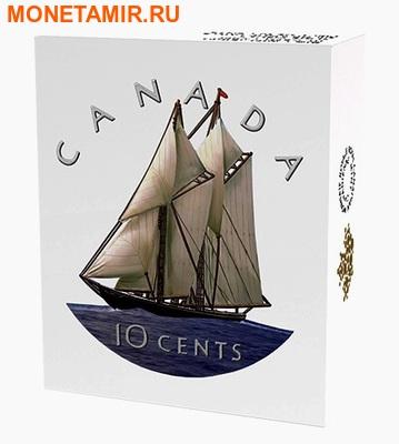 Канада 10 центов 2016.Шхуна Блюноуз серия Большие монеты.Арт.60 (фото, вид 3)