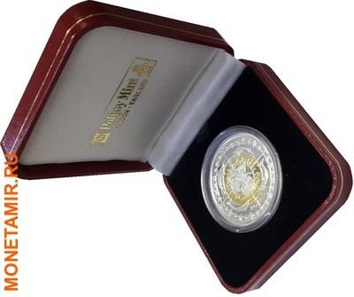 Британские Виргинские Острова 1 роял 2007.Корабль.(Первая в мире четырех метальная монета).Арт.60 (фото, вид 2)