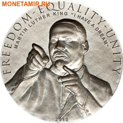 Острова Кука 2х5 долларов 2010.Барак Обама и Мартин Лютер Кинг.Арт.000289130785/60 (фото, вид 2)