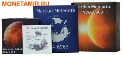 Ниуэ 1 доллар 2016.Метеорит – Марс NWA 6963 (Martian Meteorite NWA 6963).Арт.60 (фото, вид 2)