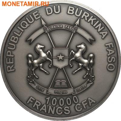 Буркина Фасо 10000 франков 2014.Футбол – ФИФА 2014 – Чемпионат мира в Бразилии (Килограмм).Арт.60 (фото, вид 1)