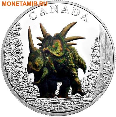 Канада 3х10 долларов 2016.Динозавры.Арт.60 (фото, вид 1)