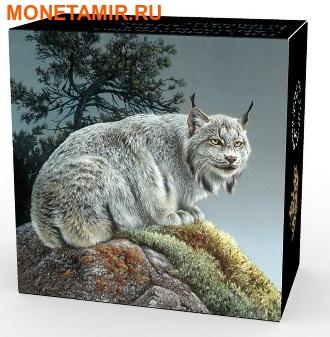 Канада 20 долларов 2016.Рысь серия Величественные животные.Арт.60 (фото, вид 3)