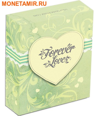 Тувалу 50 центов 2014.Вечная любовь - FOREVER LOVE – Попугаи Какаду Инка.Арт.000155646311/60 (фото, вид 3)