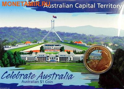 Австралия 1 доллар 2009.Попугай – Празднование Австралии (AUSTRALIAN CAPITAL TERRITORY CELEBRATE AUSTRALIA).Арт.60 (фото, вид 1)