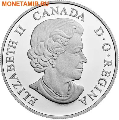 Канада 20 долларов 2016.Белоголовый орел серия Величественные животные.Арт.60 (фото, вид 1)