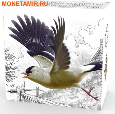 Канада 20 долларов 2016.Птица Американский Щегол.Арт.60 (фото, вид 4)