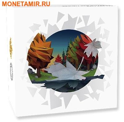 Канада 20 долларов 2016.Кленовый лист – Геометрия в искусстве.Арт.60 (фото, вид 4)