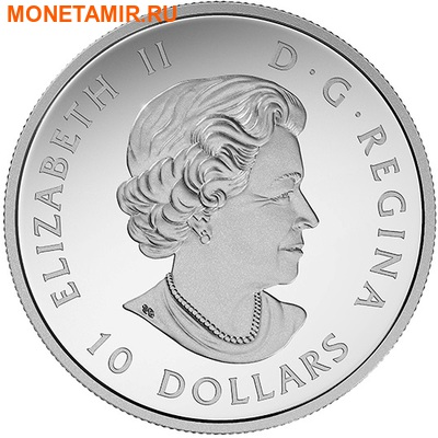Канада 10 долларов 2017.Гагара – 150 лет Празднования Канады.Арт.60 (фото, вид 2)