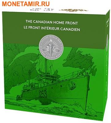 Канада 20 долларов 2016.Патрульный корабль против подводных лодок серии Канадский тыл.Арт.60 (фото, вид 3)