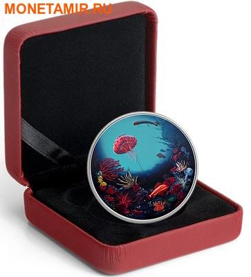 Канада 30 долларов 2016.Коралловый риф – Подводный мир – Рыбы (Ультрафиолет).Арт.60 (фото, вид 3)