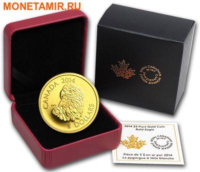 Канада 5 долларов 2014.Белоголовый орлан.Арт.60 (фото, вид 2)