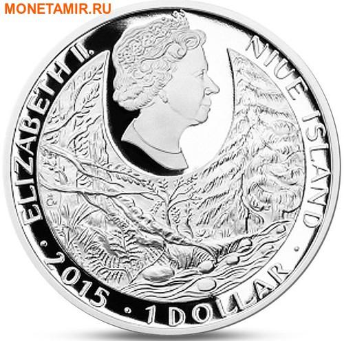 Ниуэ 1 доллар 2015.Саламандра – Под угрозой исчезновения (Буклет).Арт.60 (фото, вид 1)