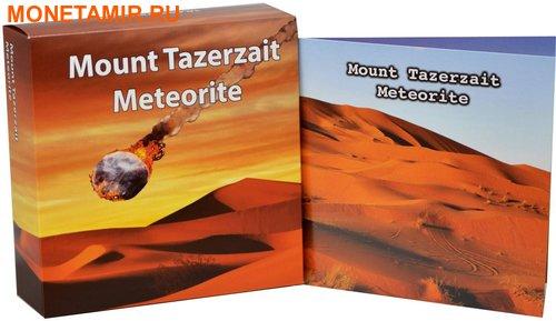 Нигер 10000 франков 2016.Метеорит Тазерзайт - Mount Tazerzait (Килограмм).Арт.60 (фото, вид 2)