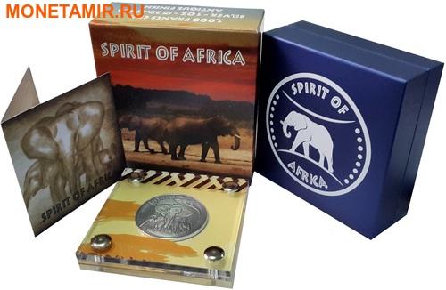 Буркина Фасо 5х1000 франков 2016.Африканские Слоны – Дух Африки (Набор).Арт.60 (фото, вид 11)