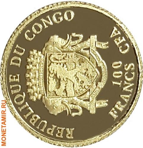 Конго 100 франков 2014.Футбол – ФИФА 2014 – Чемпионат мира в Бразилии.Арт.000313149826/60 (фото, вид 1)