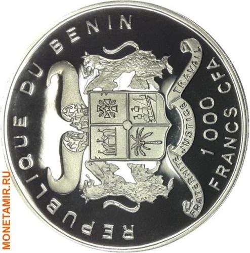 Бенин 1000 франков 2004.Лиса.Арт.60 (фото, вид 1)