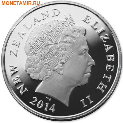 Новая Зеландия 1 доллар 2014.Крейсер Ахиллес.Арт.000100049590/60 (фото, вид 1)