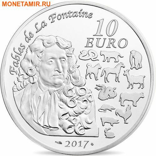 Франция 10 евро 2017.Год Петуха – Лунный календарь.Арт.60 (фото, вид 1)