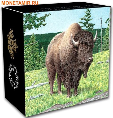 Канада 20 долларов 2016.Бизон серия Величественные животные.Арт.60 (фото, вид 3)