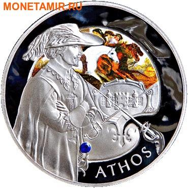 Беларусь 4х20 рублей 2009 Мушкетеры (Набор 4 монеты).Арт.60 (фото, вид 2)