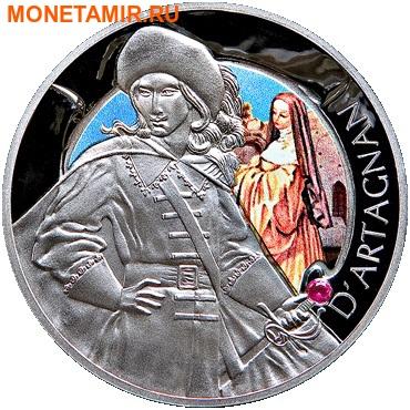 Беларусь 4х20 рублей 2009 Мушкетеры (Набор 4 монеты).Арт.60 (фото, вид 3)