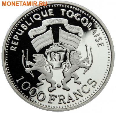 Того 1000 франков 2000.Лев.Арт.60 (фото, вид 1)