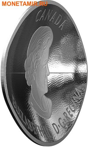 Канада 25 долларов 2017.Канадский футбол – Мяч (Выпуклая форма).Арт.60 (фото, вид 3)