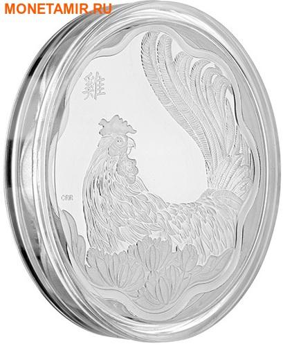 Канада 15 долларов 2017.Год Петуха – Лунный календарь серия Лотос.Арт.60 (фото, вид 1)