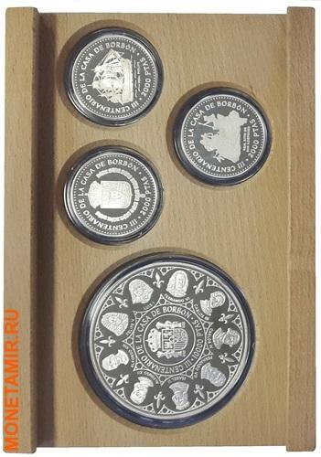 Испания 3х10000 песет + 12х2000 песет 1997/1998/1999.Династия Бурбонов (Casa de Borbon) - Испанские Короли (три набора одним лотом).Арт.60 (фото, вид 2)