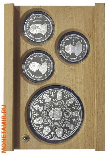 Испания 3х10000 песет + 12х2000 песет 1997/1998/1999.Династия Бурбонов (Casa de Borbon) - Испанские Короли (три набора одним лотом).Арт.60 (фото, вид 4)