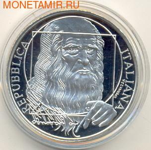 Италия 10 евро 2006. Самолеты Да Винчи. (фото, вид 1)