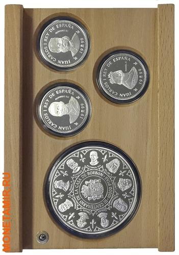 Испания 3х10000 песет + 12х2000 песет 1997/1998/1999.Династия Бурбонов (Casa de Borbon) - Испанские Короли (три набора одним лотом).Арт.60 (фото, вид 7)