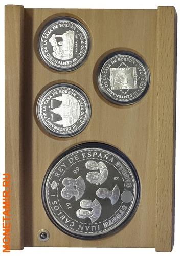 Испания 3х10000 песет + 12х2000 песет 1997/1998/1999.Династия Бурбонов (Casa de Borbon) - Испанские Короли (три набора одним лотом).Арт.60 (фото, вид 8)